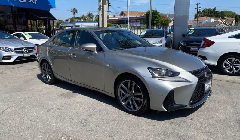 2018 Lexus IS 300 F Sport Sedan full